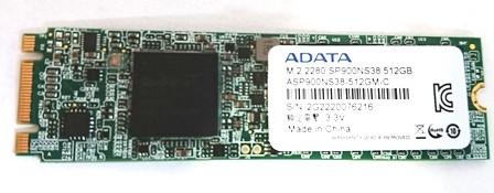odzyskiwanie danych z dysku Adata SP900ns38
